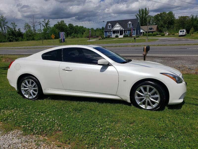 2015 Infiniti Q60 Coupe for sale at 220 Auto Sales in Rocky Mount VA