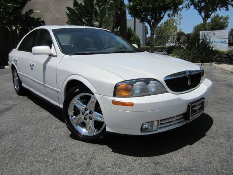 2001 Lincoln LS for sale at ORANGE COUNTY AUTO WHOLESALE in Irvine CA