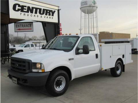 2003 Ford F-350 Super Duty for sale at CENTURY TRUCKS & VANS in Grand Prairie TX