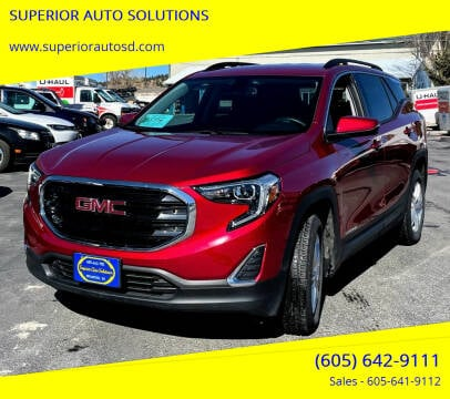 2018 GMC Terrain for sale at SUPERIOR AUTO SOLUTIONS in Spearfish SD