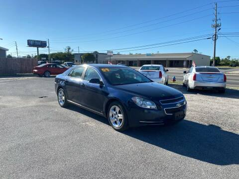 2009 Chevrolet Malibu for sale at Lucky Motors in Panama City FL
