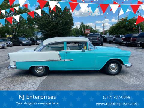 1955 Chevrolet Bel Air for sale at NJ Enterprises in Indianapolis IN