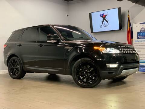 2016 Land Rover Range Rover Sport for sale at TX Auto Group in Houston TX