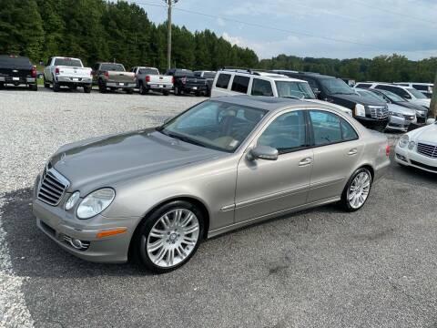2008 Mercedes-Benz E-Class for sale at Billy Ballew Motorsports in Dawsonville GA