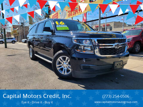 2016 Chevrolet Suburban for sale at Capital Motors Credit, Inc. in Chicago IL