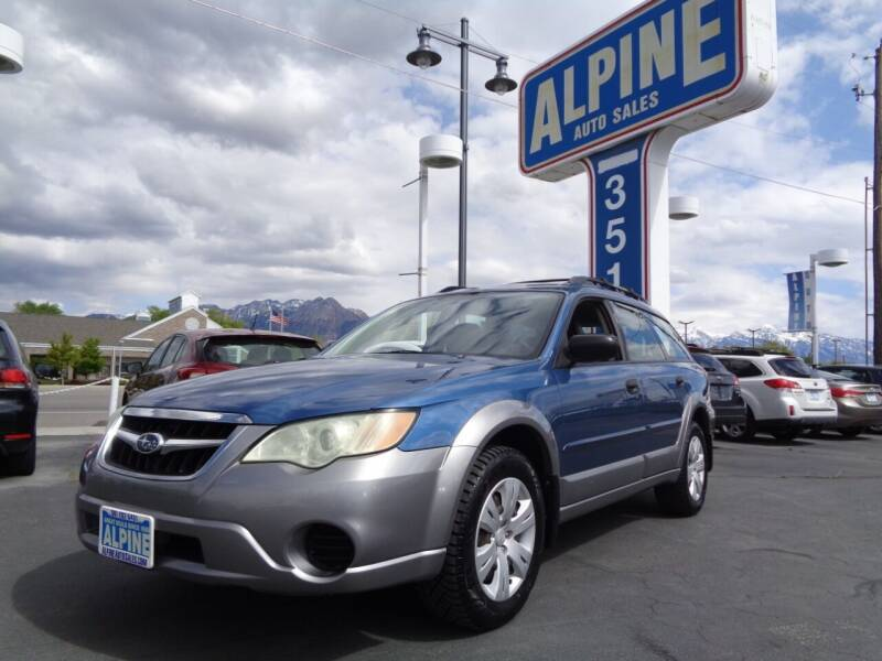 2008 Subaru Outback for sale at Alpine Auto Sales in Salt Lake City UT