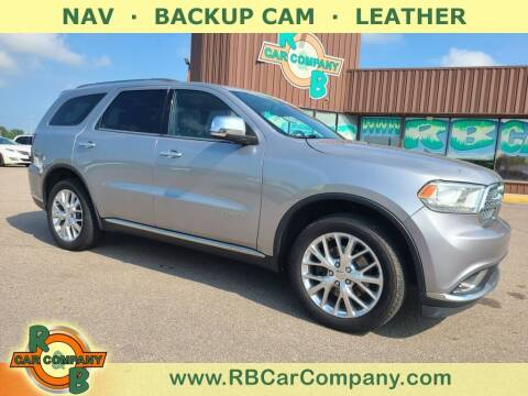 2014 Dodge Durango for sale at R & B Car Co in Warsaw IN