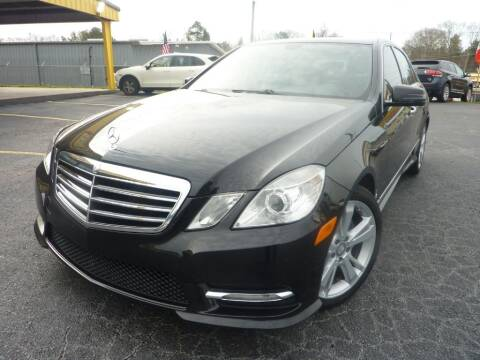 2013 Mercedes-Benz E-Class for sale at Roswell Auto Imports in Austell GA