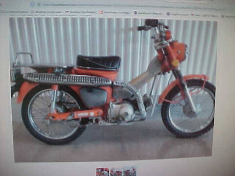1977 Honda CT90 for sale at North Hills Auto Mall in Pittsburgh PA