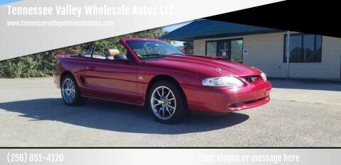 1995 Ford Mustang for sale at Tennessee Valley Wholesale Autos LLC in Huntsville AL