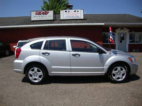 2008 Dodge Caliber for sale at G and G AUTO SALES in Merrill WI