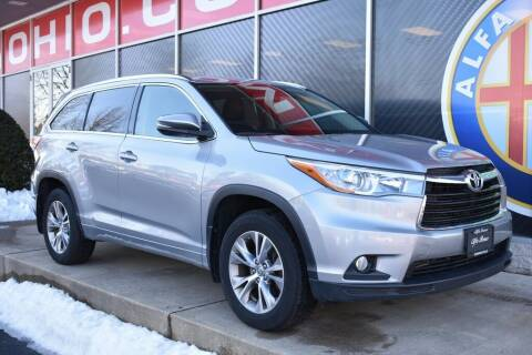 2015 Toyota Highlander for sale at Alfa Romeo & Fiat of Strongsville in Strongsville OH