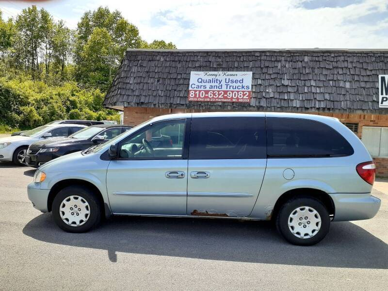 2003 Chrysler Town and Country for sale at Kenny's Korner in Hartland MI
