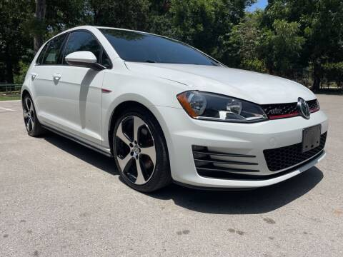 2015 Volkswagen Golf GTI for sale at Thornhill Motor Company in Lake Worth TX
