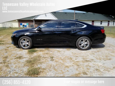 2015 Chevrolet Impala for sale at Tennessee Valley Wholesale Autos LLC in Huntsville AL