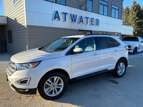2017 Ford Edge for sale at Atwater Ford Inc in Atwater MN