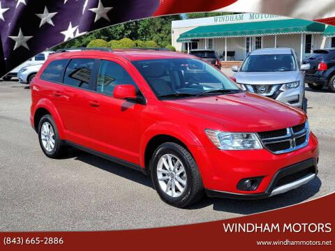 2015 Dodge Journey for sale at Windham Motors in Florence SC