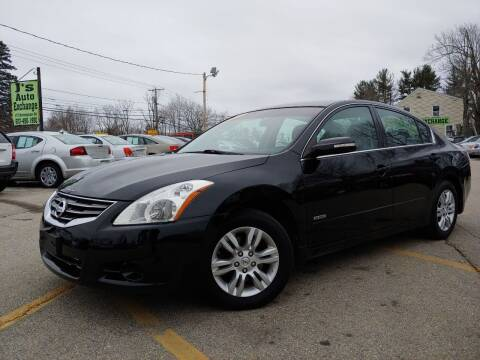 2010 Nissan Altima Hybrid for sale at J's Auto Exchange in Derry NH