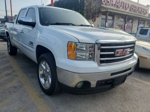 2013 GMC Sierra 1500 for sale at USA Auto Brokers in Houston TX