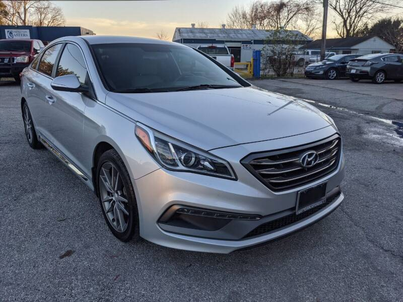 2017 Hyundai Sonata for sale at PREMIER MOTORS OF PEARLAND in Pearland TX