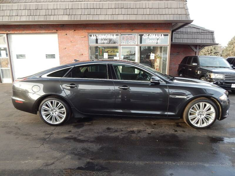 2013 Jaguar XJL for sale at AUTOWORKS OF OMAHA INC in Omaha NE