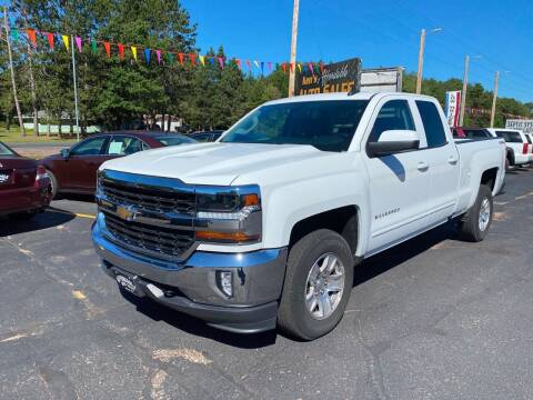 2017 Chevrolet Silverado 1500 for sale at Affordable Auto Sales in Webster WI