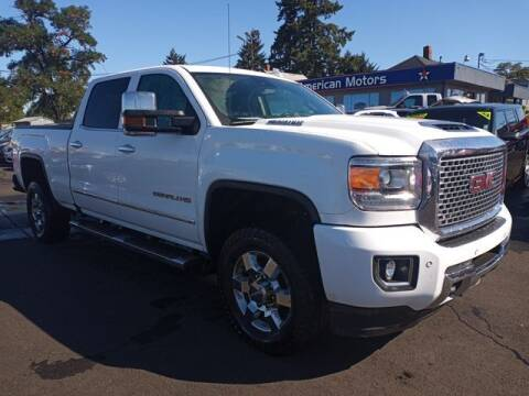 2017 GMC Sierra 3500HD for sale at All American Motors in Tacoma WA