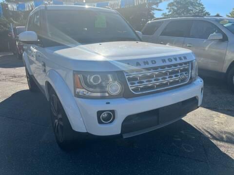 2014 Land Rover LR4 for sale at Brilliant Motors in Topsham ME
