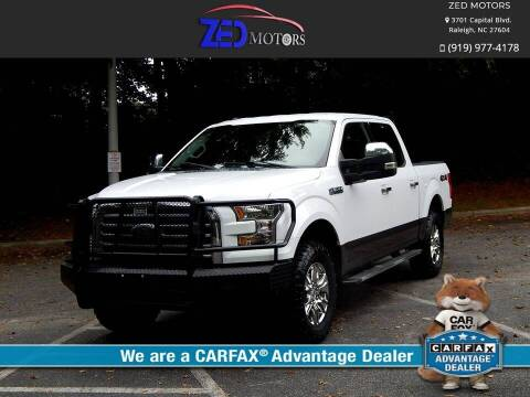 2016 Ford F-150 for sale at Zed Motors in Raleigh NC