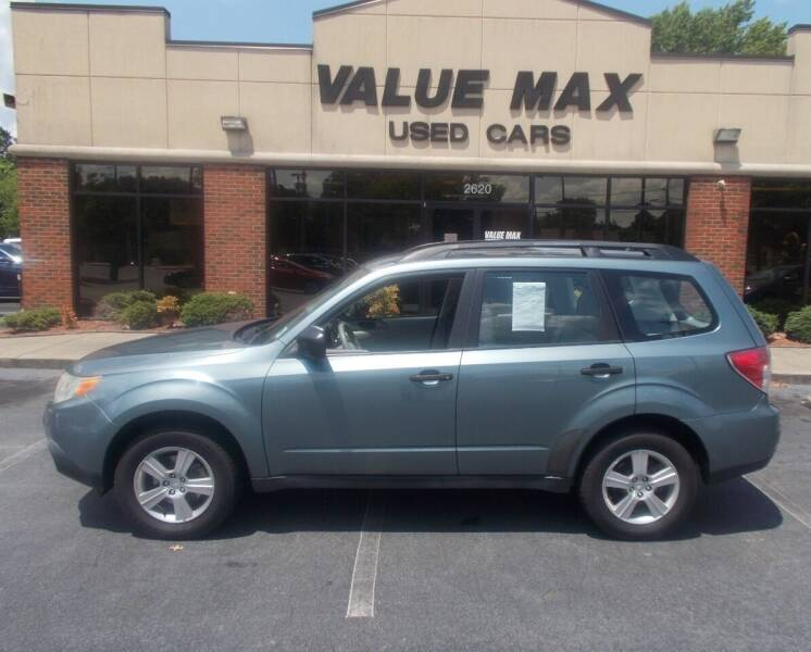 2011 Subaru Forester for sale at ValueMax Used Cars in Greenville NC