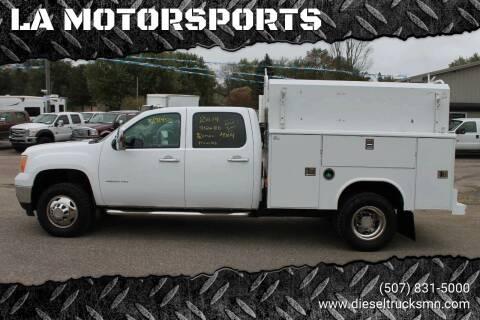 2014 GMC Sierra 3500HD for sale at LA MOTORSPORTS in Windom MN
