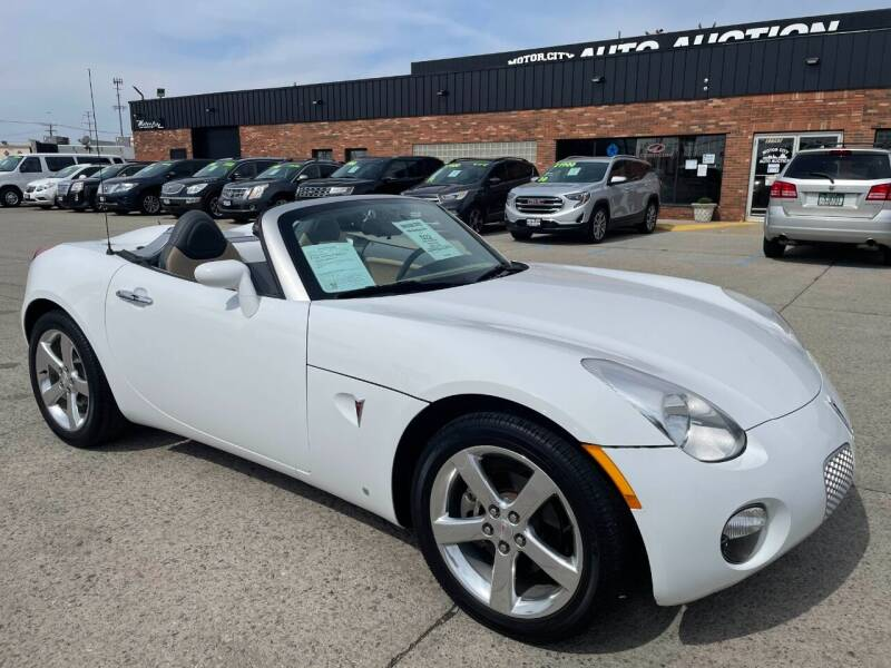 2007 Pontiac Solstice for sale at Motor City Auto Auction in Fraser MI