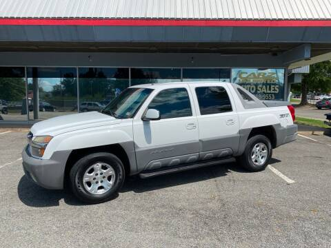 2002 Chevrolet Avalanche for sale at Carz Unlimited in Richmond VA