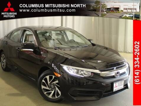 2018 Honda Civic for sale at Auto Center of Columbus - Columbus Mitsubishi North in Columbus OH
