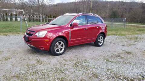 2012 Chevrolet Captiva Sport for sale at Tennessee Valley Wholesale Autos LLC in Huntsville AL