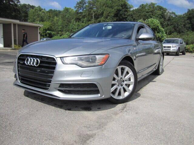 2013 Audi A6 for sale at Atlanta Luxury Motors Inc. in Buford GA