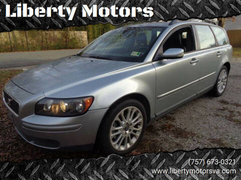 2006 Volvo V50 for sale at Liberty Motors in Chesapeake VA
