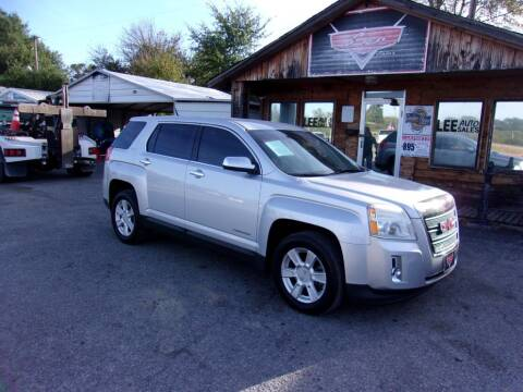 2012 GMC Terrain for sale at LEE AUTO SALES in McAlester OK
