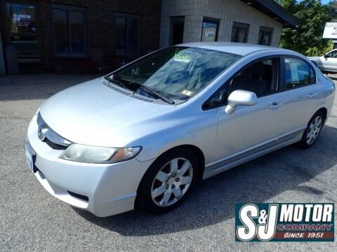 2009 Honda Civic for sale at S & J Motor Co Inc. in Merrimack NH