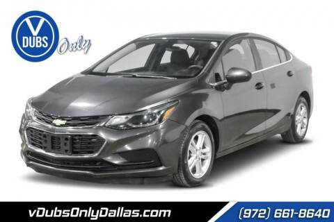2017 Chevrolet Cruze for sale at VDUBS ONLY in Dallas TX