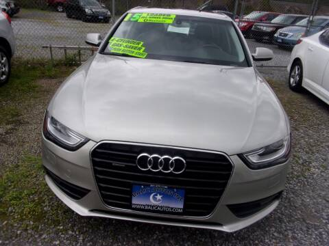 2015 Audi A4 for sale at Balic Autos Inc in Lanham MD