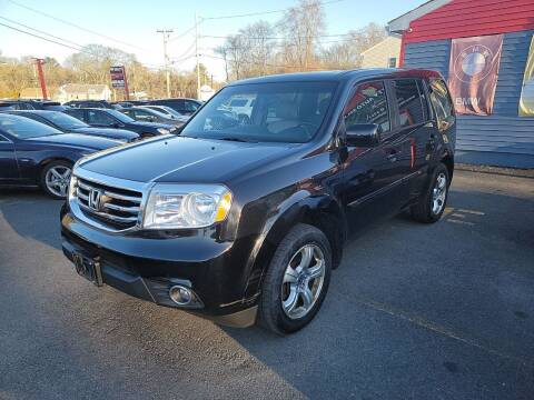 2012 Honda Pilot for sale at Top Quality Auto Sales in Westport MA