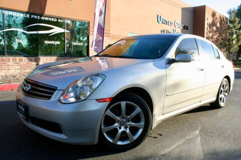 2005 Infiniti G35 for sale at CK Motors in Murrieta CA