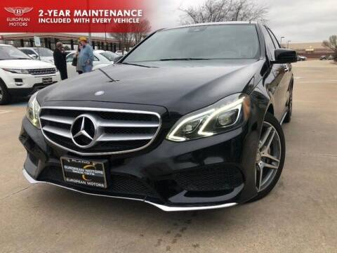 2014 Mercedes-Benz E-Class for sale at European Motors Inc in Plano TX