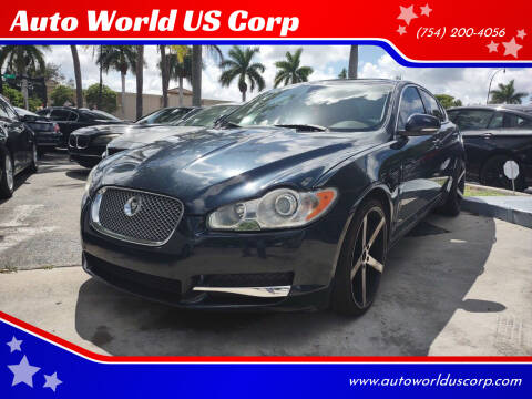 2010 Jaguar XF for sale at Auto World US Corp in Plantation FL