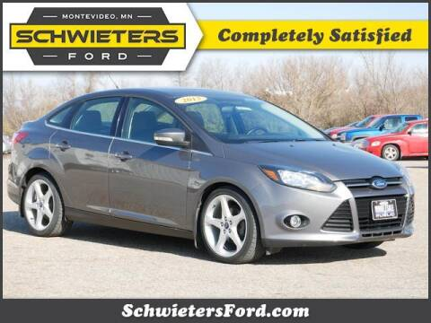 2013 Ford Focus for sale at Schwieters Ford of Montevideo in Montevideo MN