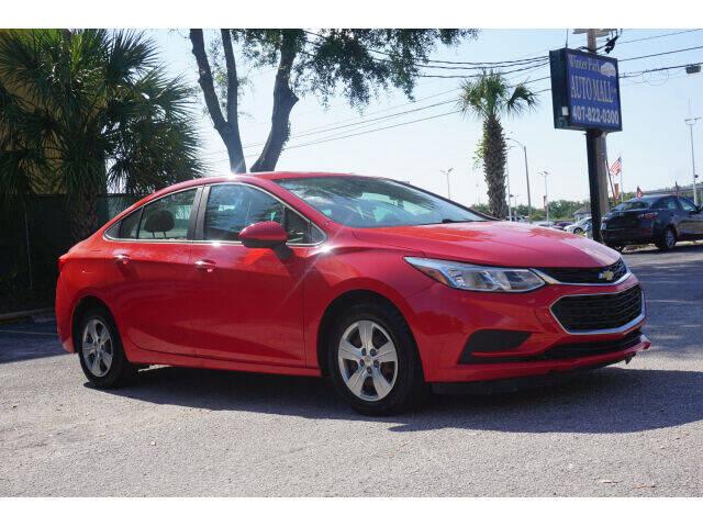 2018 Chevrolet Cruze for sale at Winter Park Auto Mall in Orlando FL