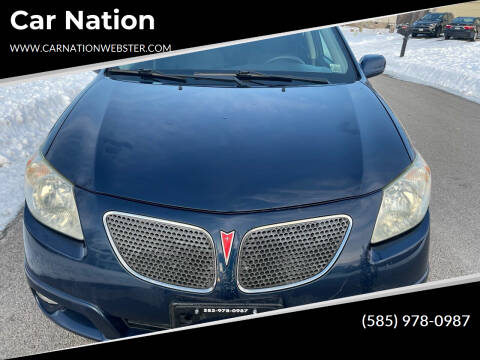 2005 Pontiac Vibe for sale at Car Nation in Webster NY