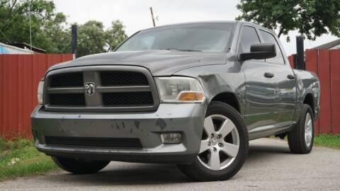 2012 RAM Ram Pickup 1500 for sale at Hidalgo Motors Co in Houston TX