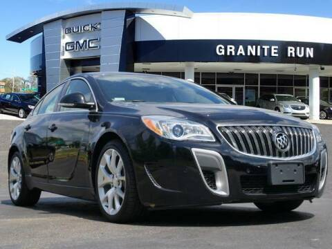 2017 Buick Regal for sale at GRANITE RUN PRE OWNED CAR AND TRUCK OUTLET in Media PA